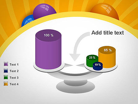 Colored Balloons PowerPoint Template Slide 10