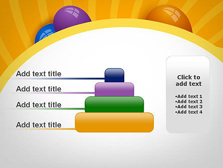Colored Balloons PowerPoint Template Slide 8