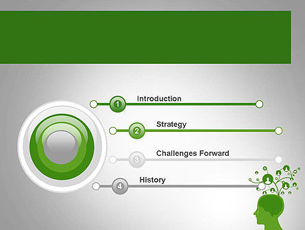 Think Social PowerPoint Template, Slide 3, 11761, Technology and Science — PoweredTemplate.com