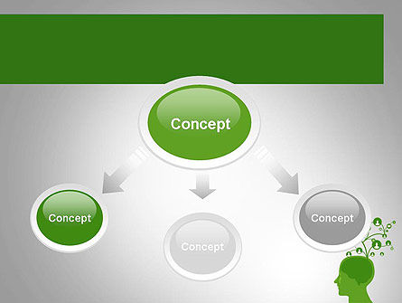 Think Social PowerPoint Template, Slide 4, 11761, Technology and Science — PoweredTemplate.com