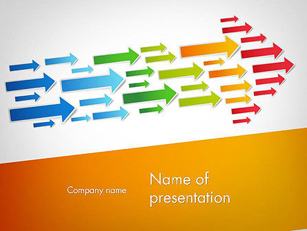 Forward Concept PowerPoint Template, 11762, Business Concepts — PoweredTemplate.com