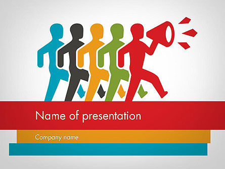 Education & Training: Leadership Concept PowerPoint Template #11763