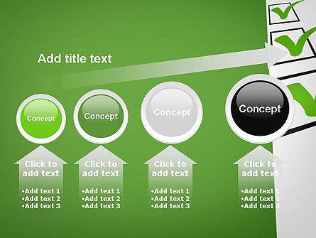 Checkbox PowerPoint Template Slide 13