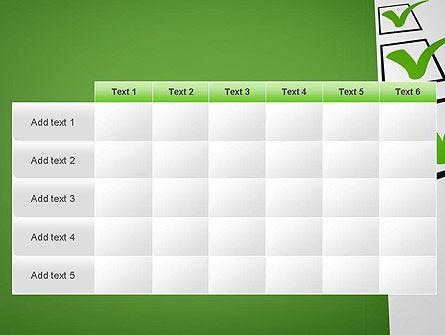Checkbox PowerPoint Template Slide 15