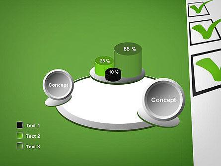 Checkbox PowerPoint Template Slide 16