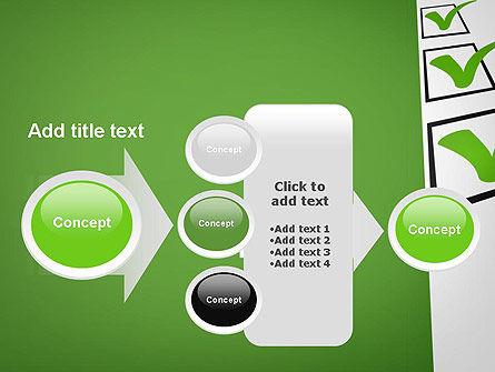 Checkbox PowerPoint Template Slide 17