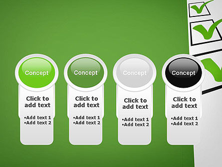 Checkbox PowerPoint Template Slide 5
