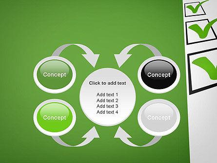 Checkbox PowerPoint Template Slide 6