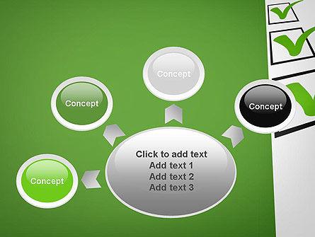Checkbox PowerPoint Template Slide 7