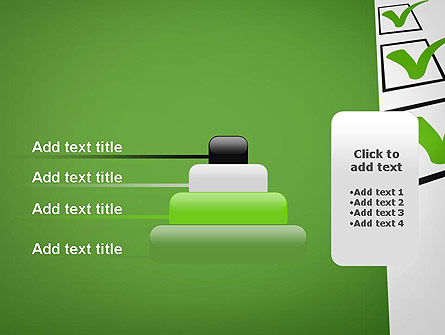Checkbox PowerPoint Template Slide 8