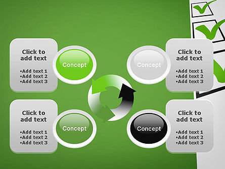 Checkbox PowerPoint Template Slide 9