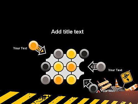 Concept of Road Works PowerPoint Template Slide 10