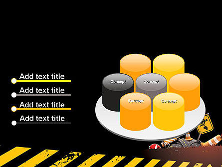 Concept of Road Works PowerPoint Template Slide 12