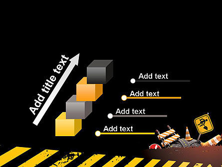 Concept of Road Works PowerPoint Template Slide 14