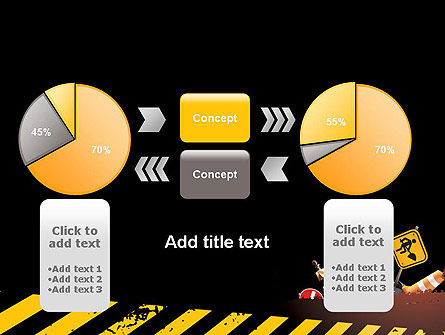 Concept of Road Works PowerPoint Template Slide 16