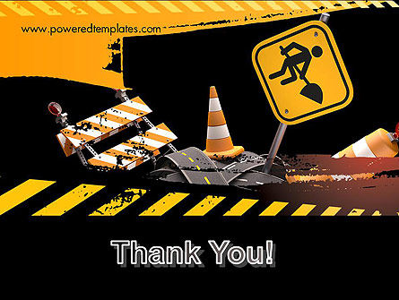 Concept of Road Works PowerPoint Template Slide 20