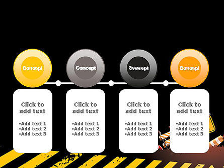 Concept of Road Works PowerPoint Template Slide 5