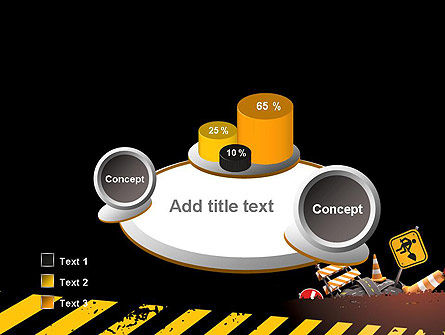 Concept of Road Works PowerPoint Template Slide 6
