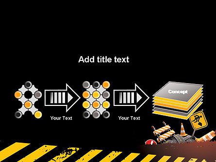 Concept of Road Works PowerPoint Template Slide 9
