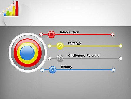 Success Bar Chart PowerPoint Template, Slide 3, 11767, Business Concepts — PoweredTemplate.com