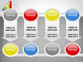 Success Bar Chart PowerPoint Template#18