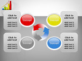Success Bar Chart PowerPoint Template#9