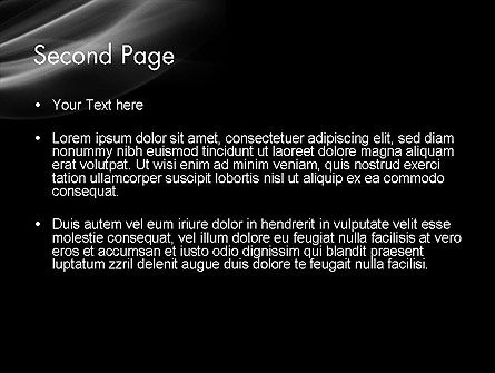 Black Background PowerPoint Template Slide 2
