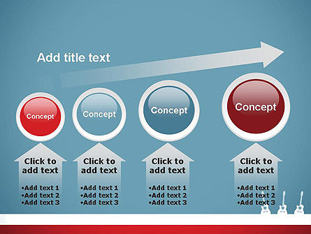 Three Guitars PowerPoint Template Slide 13