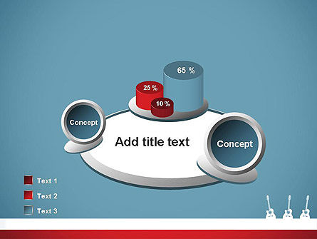 Three Guitars PowerPoint Template Slide 16