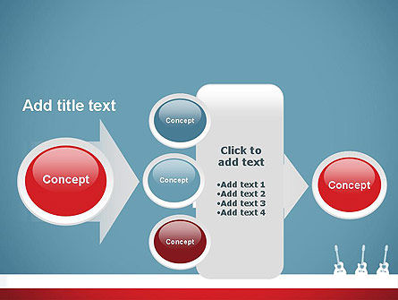 Three Guitars PowerPoint Template Slide 17