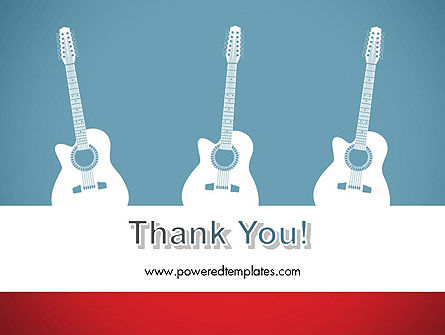 Three Guitars PowerPoint Template Slide 20