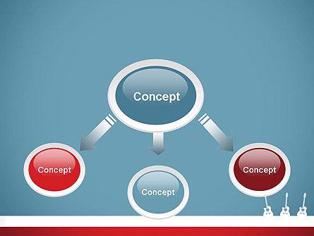 Three Guitars PowerPoint Template, Slide 4, 11771, Art & Entertainment — PoweredTemplate.com