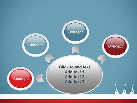 Three Guitars PowerPoint Template Slide 7