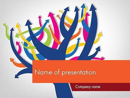 Different Directions PowerPoint Template