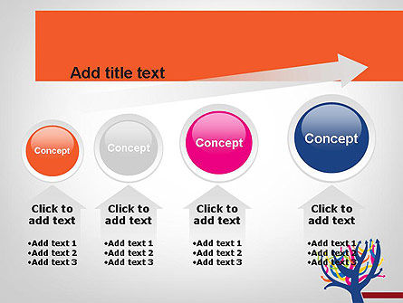 Different Directions PowerPoint Template Slide 13