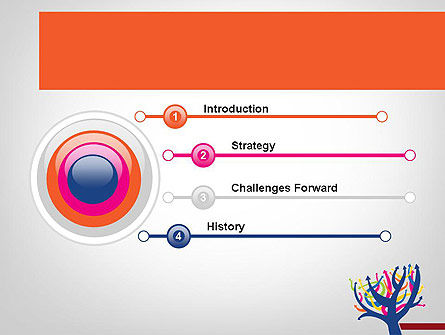 Different Directions PowerPoint Template Slide 3