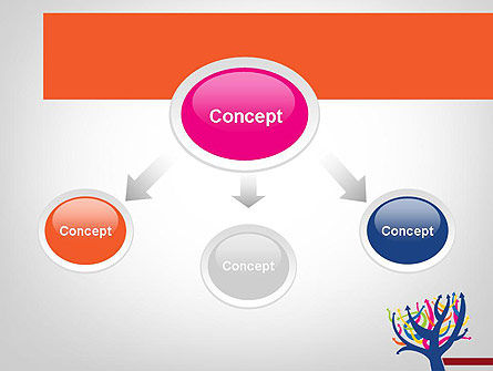 Different Directions PowerPoint Template, Slide 4, 11772, Business Concepts — PoweredTemplate.com