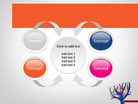 Different Directions PowerPoint Template Slide 6