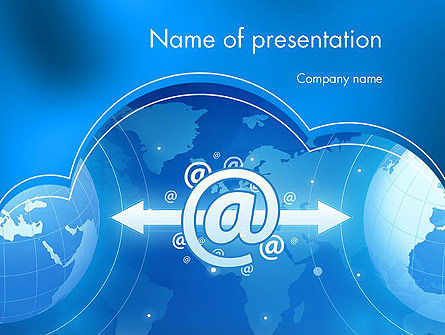 Technology and Science: Information Systems PowerPoint Template #11773