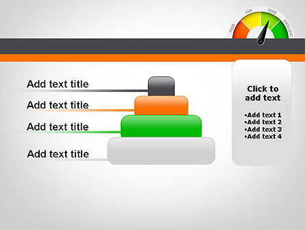 Rating Meter PowerPoint Template Slide 8