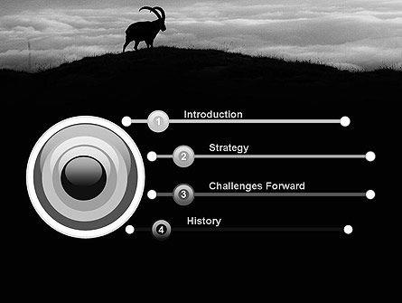 Chamois PowerPoint Template, Slide 3, 11777, Nature & Environment — PoweredTemplate.com