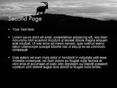 Chamois PowerPoint Template#2