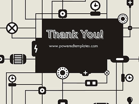 Wiring Background PowerPoint Template Slide 20