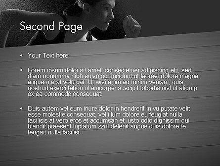Will to Win PowerPoint Template, Slide 2, 11780, Sports — PoweredTemplate.com