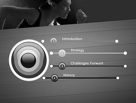 Will to Win PowerPoint Template, Slide 3, 11780, Sports — PoweredTemplate.com