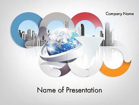 Corporate Presentation PowerPoint Template, 11781, Business — PoweredTemplate.com