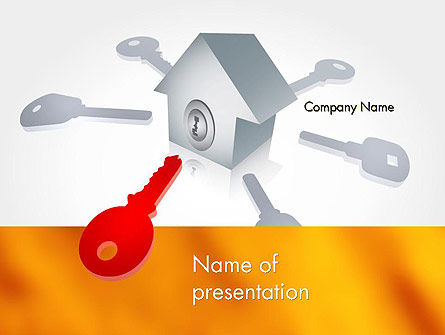 Real Estate Document Management PowerPoint Template, 11782, General — PoweredTemplate.com