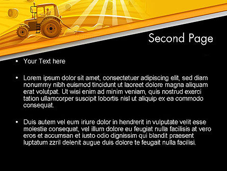 Small Farming PowerPoint Template Slide 2