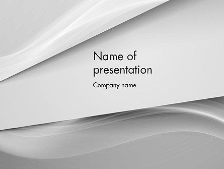 Abstract/Textures: Gray Fantasy PowerPoint Template #11784