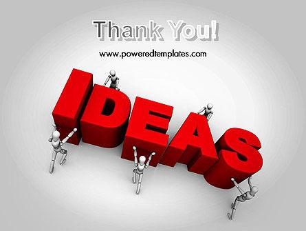 Pushing Ideas PowerPoint Template Slide 20